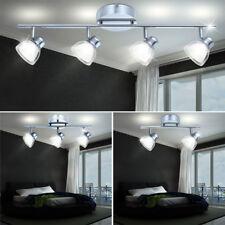LED Decken Design Spot Lampe Strahler beweglich Beleuchtung Chrom Big Light