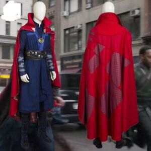 Avengers Infinity War Doctor Strange Dr.Steven Vincent Strange Cosplay with Cape