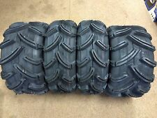 4 Maxxis M962 Mud Bug ATV Tire Set Rear 6 Ply (FOUR TIRES) 25x8-12 and 25x10-12