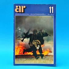 Armeerundschau 11-1979 NVA Volksarmee Soldaten DDR-Zeitschrift Klari Katona C