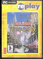Windows 2000;Windows Me;Windows XP : Replay Monopoly Tycoon (PC) VideoGames