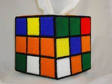 """RUBIX CUBE TISSUE BOX COVER - EXACT TV REPLICA FROM """"THE BIG BANG THEORY""""!"""