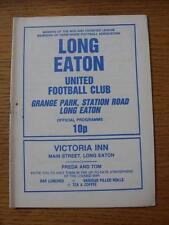 20/04/1982 largo Eaton Unidos V Shepshed Charterhouse (Pequeñas Marcas)