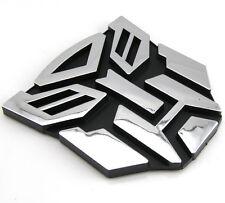 3D Logo Autobot Transformers Emblem Abzeichen Aufkleber Aufkleber neu