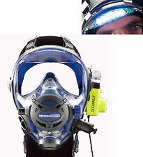 Ocean Reef Neptune Space G.divers Full GMS Radio Visor Light Diving Mask ML CB