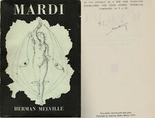 RARE EO N° HORS COMMERCE SIGNÉ 50 EXEMPLAIRES HERMAN MELVILLE + MAX ERNST  MARDI