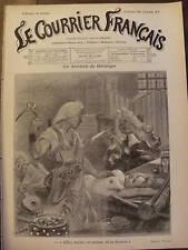 LE COURRIER FRANCAIS 1901 N 7 UN ANCÊTRE DE BERENGER