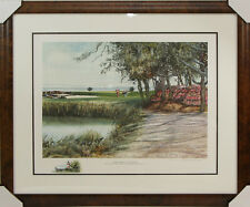 """Golf Print Donald Voorhees """"Southern Classic"""" Limited Edition Signed Art 383/950"""