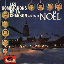 LES COMPAGNONS DE LA CHANSON CHANTENT NOËL FRENCH ORIG EP