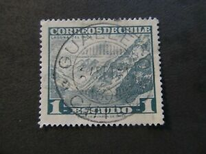 """CHILE - POSTMARK """"GUALLECO"""" - LIQUIDATION STOCK -  EXCELLENT OLD STAMP"""