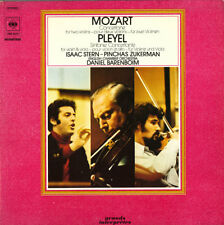 MOZART Concertone for 2 Violins PLEYEL Sinfonia Concertante STERN ZUCKERMAN CBS