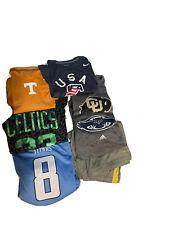 Sports Apparel Lot -NCAA, NFL, NBA, Nike, Under Armour, Adidas, Shirts, Jerseys