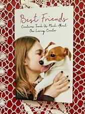 BEST FRIENDS, Pet, animals, caregivers, Devotional bk, 36pgs, soft-cover, *NEW*