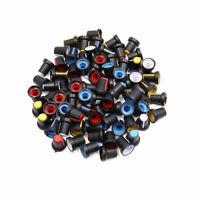 80Stk. Potentiometer Steuerknauf Auto Audio Radio Mehrfarbig Kunststoff