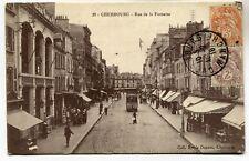 CPA - Carte Postale - France - Cherbourg - Rue de la Fontaine - 1916 (M7083)