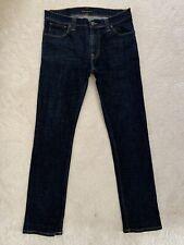 Men's Nudie Thin Finn Slim Fit Stretch Jeans W34 L32 (D131)
