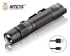 New Jetbeam Niteye MS-R25 Cree XP-L 1200 Lumens USB Charge LED Flashlight Torch