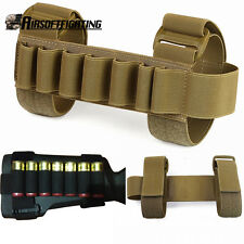 12Gauge Tactical 1000D 7 Round Shotgun Shell Holder Gun Buttstock Holder CB