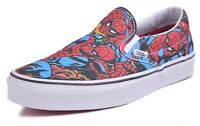 Vans Classic Slip-On Men's Marvel Spider-Man Skateboard Shoes Choose Size