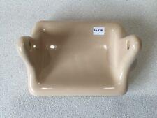 Gato Portarrollos de papel higiénico titular de Baño WC Cerámica Negro Y Crema