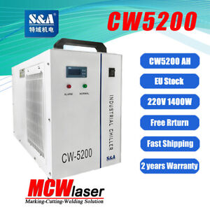 S&A Genuine CW-5200AG/AH(Upgraded Version) Water Chiller From EU Stock