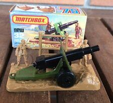 Matchbox 32 field gun