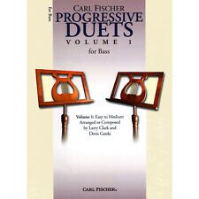 Carl Fischer Progressive Duets for Bass Volume 1