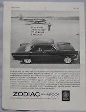 1961 Ford Zodiac Original advert No.1