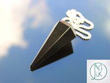 Rainbow Obsidian Gemstone Point Pendulum Dowsing Crystal Dowser Chakra Healing