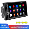 7in 2DIN Android 8.1 Quad-core Car Stereo Radio GPS Sat Nav BT WiFi MP5 Player