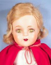 Princess Elizabeth Doll Madame Alexander Composition 1937 Orig Dress Cape Purse
