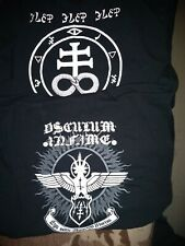 OSCULUM INFAME-ego sum angelus mortis-t-shirt-size-XL-black metal
