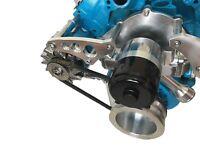 Ford 351W Electric Water Pump Alternator Bracket  V-Belt SBF Circle