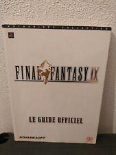 Guide FINAL FANTASY 9 ( IX ) Square Soft Enix Playstation 1 - PIGGYBACK