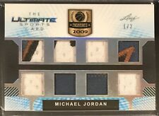 2019 Leaf Ultimate Sports Michael Jordan Game Used Jersey Relic /2!