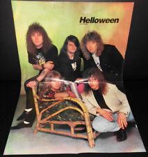 Heavy Metal Poster Helloween / Slayer, 90er Jahre RAR