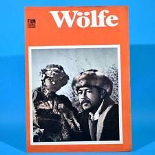 """2205 Film Für Sie 60/1974 DDR """"Wölfe"""" Sjuimenkol Tschokmorow"""