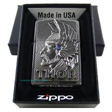 ZIPPO THOR Limited Edition xxxx / 1000 mit Swarovski Element Donnergott NEU OVP