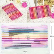 Nylon Cosmetic Make up Brush Bag Case Pen Pencil Pouch Stationery Purse