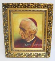 RARE Painting Portrait of Cardinal Désiré-Joseph MERCIER- Georges Lanthin c1920