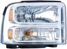 Headlight Assembly fits 2005-2007 Ford F-250 Super Duty,F-350 Super Duty Excursi