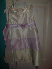 Jessica Ann Girl's Size 36 Months Purple & Green Dress