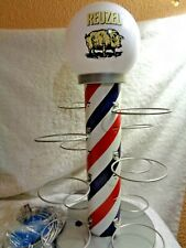 Reuzel Barber Light Pole Globe Stand Pomade Ring Dispenser