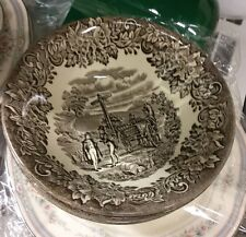 DICKENS SERIES bowls  Brown English Ironstone Tableware SOLD EACH