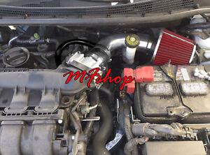 Black Red For 2013-2019 Nissan Sentra 1.8L L4 Air Intake System Kit + Filter