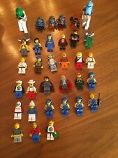 33 Lego People 2 Horse - Lot Of 35 Total Rock Viking Wizard