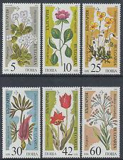 Briefmarken mit Blumen Thema aus Bulgarien