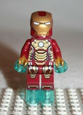 Lego IRON MAN MINIFIGURE from Super Heroes Malibu Mansion Attack (76007)