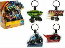 4 x Blaze and The Monster Machine LED Torch Light Keyrings
