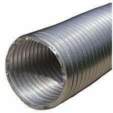 6 x 10 ft Aluminum Flexible Pipe HVAC Air Return Vent Ventilation Ductwork Duct